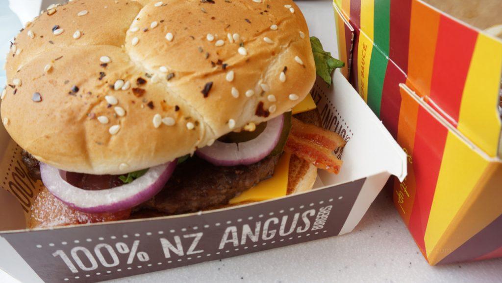 W drodze do Rotorua - McDonald