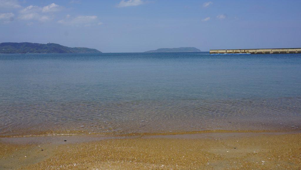 Fukuoka - czysta woda i plaża