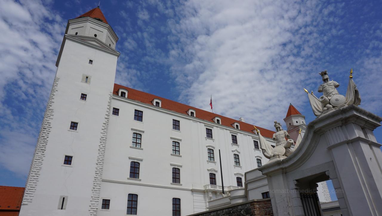 Zwiedzanie Bratysławy - Zamek