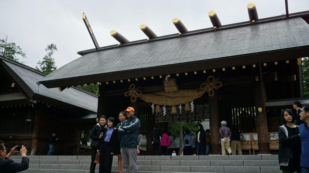 Hokkaido-jingu - świątynia w Sapporo