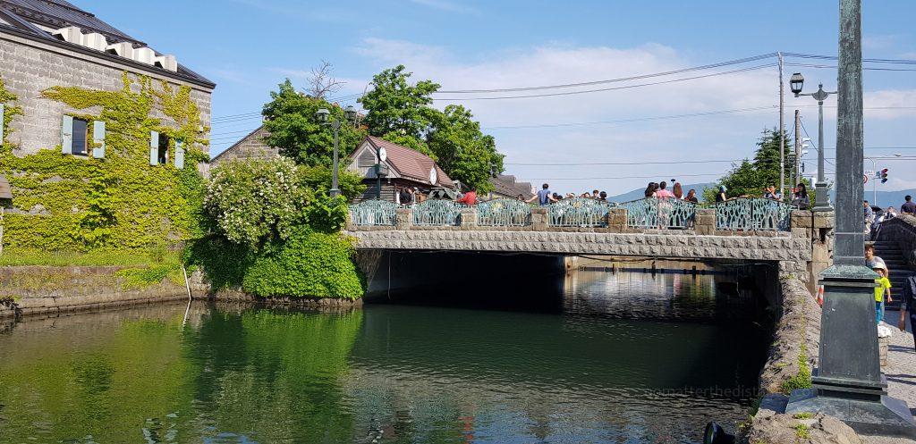 Najsłynniejszy most w Otaru. Będąc w Sapporo trzeba znaleźć jeden dzień na wycieczkę po okolicach.