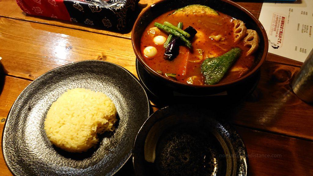 Sapporo - Chitose. Curry japońskie