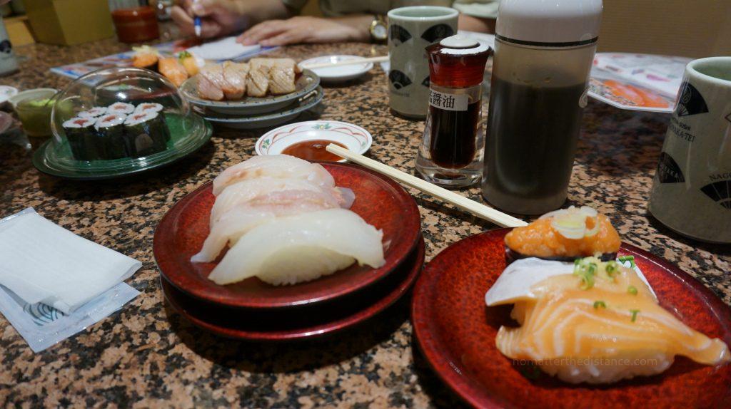 Połnocna Japonia - miejsce wędrówek łososi a Sapporo jest jednym z nich! Sushi wyśmienite z tej ryby.