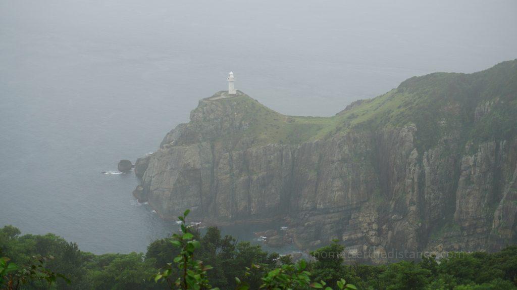 Wyspy Goto - Fukue - widok na latarnie Osezaki