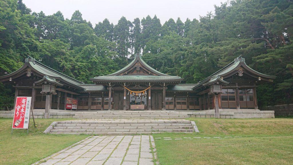 Zwiedzanie Hakodate Gokoku Shrine
