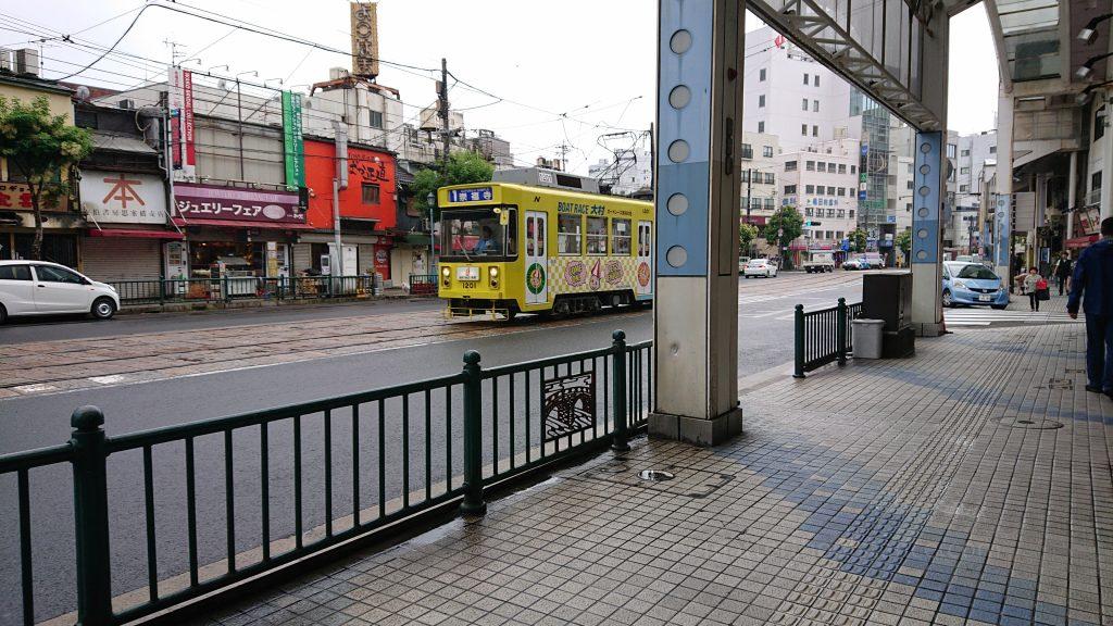 Zwiedzanie Nagasaki - transport szynowy tramwaje