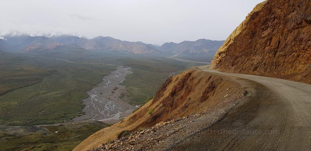Park Narodowy Denali - widok na dolinę!