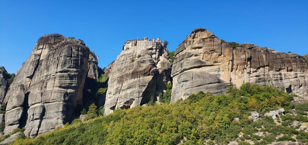 Meteory - jeden z klasztorów na skale