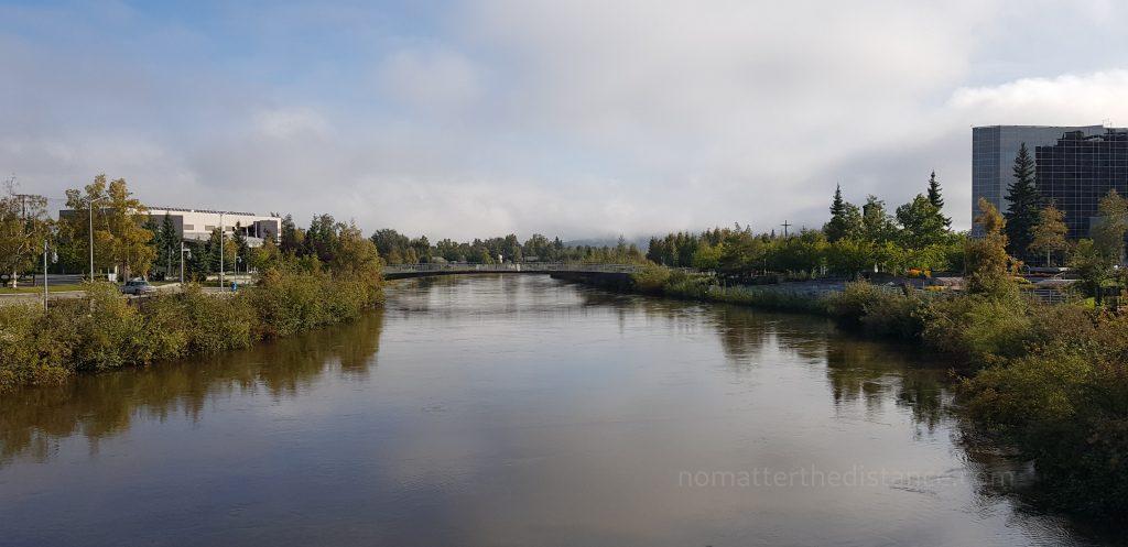 Rzeka Chena w Fairbanks
