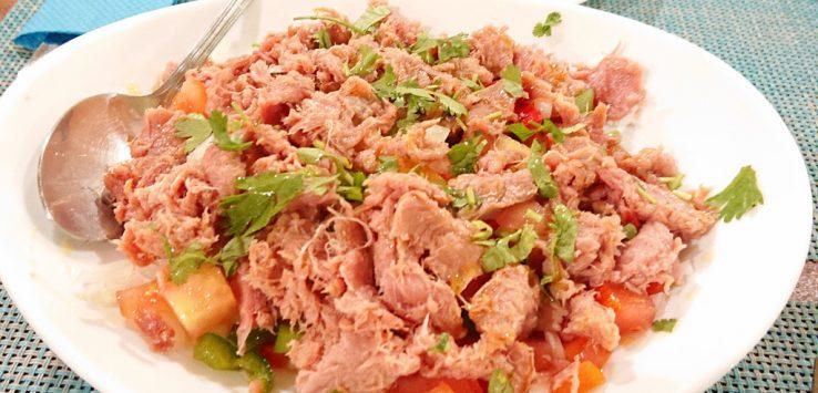 Faro - Sałatka z tuńczyka