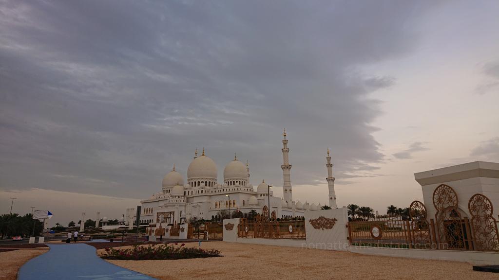 Tydzień w ZEA - Dubaj oraz Abu Zabi - Wielki Meczet