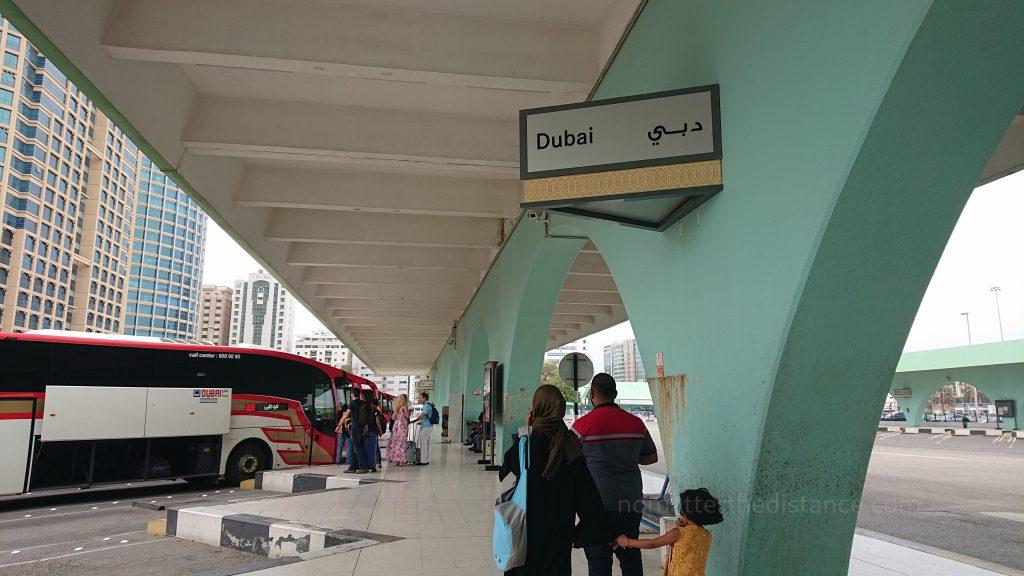 Tydzień w ZEA - Dubaj oraz Abu Zabi - terminal autobusowy